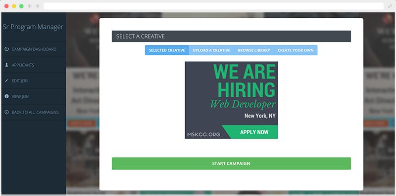 Recruitment Marketing Platform - Creative Design